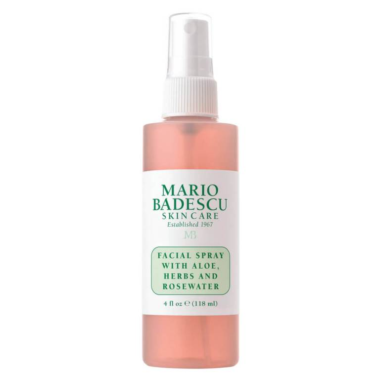 One of my favorite facial sprays. The Mario Badescu Facial Spray with Aloe, herbs, and of course ROSE WATER!!! This ish is bomb.com! I use it as a pre-make up moisturizer. A quick spritz after my serum and before my primer. It's also a great GREAT makeup refresher. Whenever you're feeling a little cake or dry, spritz some of this and you're back in the game! Get it here: https://amzn.to/2u5mmG9